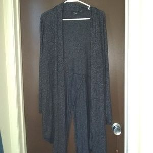 Long sweater cover up